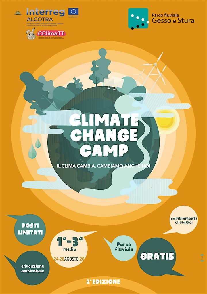 Immagine CLIMATE CHANGE CAMP - 2^ EDIZIONE