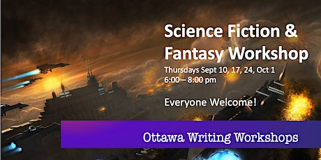 Science Fiction & Fantasy Writing Workshop - Online! tickets