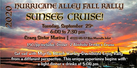 Rally Scenic Cruise with Myrtle Beach Harley-Davidson tickets