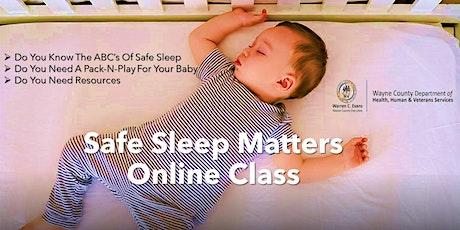 Safe Sleep Matters: Learn The ABC's of Infant Safe Sleep tickets