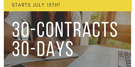 30-CONTRACTS 30-DAYS tickets
