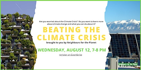 Beating the Climate Crisis tickets