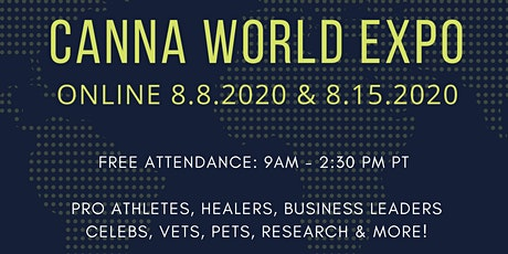 CANNA WORLD EXPO - FREE ONLINE CONFERENCE tickets