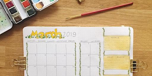 Beginner Creative Journaling Class