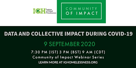 IGH Community of Impact: Data and Collective Impact During COVID-19 tickets