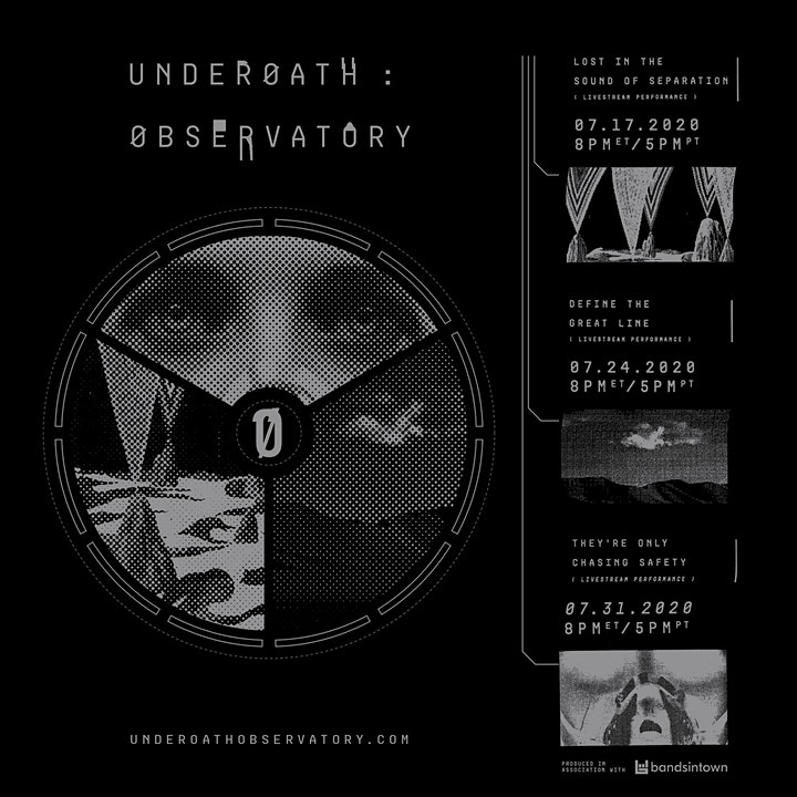 UNDEROATH : OBSERVATORY - LIVE STREAM PERFORMANCE image
