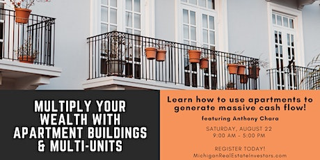 Multiply Your Wealth with Apartment Buildings & Multi-Units Workshop tickets