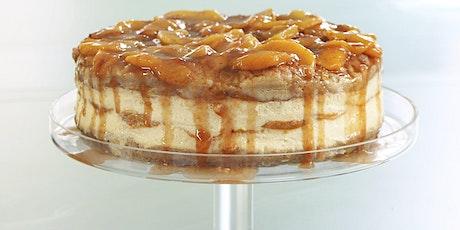 Virtual Baking Workshop: Caramel Peach Cheesecake tickets