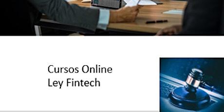 Curso Online Ley Fintech entradas