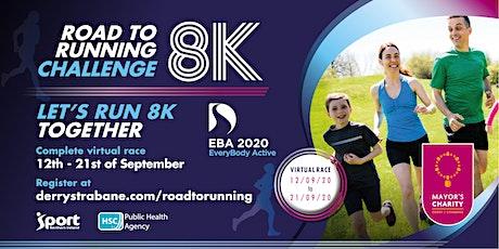 Road to Running Challenge  8K tickets