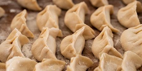 Learn How to Make Vegan Dumplings via Zoom tickets