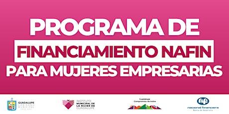Programa de Financiamiento NAFIN tickets