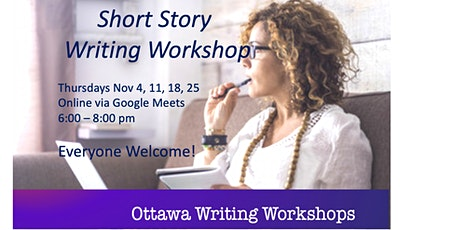 Short Story Writing Workshop - Online! tickets