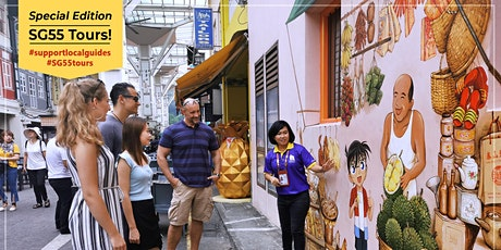 Chinatown 'Struggles of Our Forefathers' Walk - #SG55 Special Tour tickets