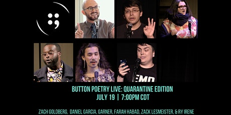 Button Poetry Live: Quarantine Edition | July 19 tickets