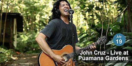 John Cruz - Live at Puamana Gardens (Oahu) tickets