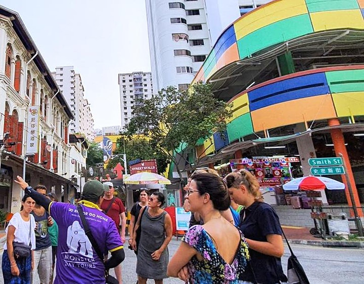 Chinatown 'Struggles of Our Forefathers' Walk - #SG55 Special Tour image