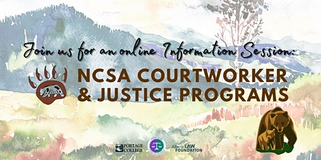 NCSA Courtworkers and Justice Programs tickets