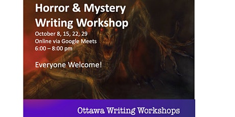 Horror & Mystery Writing Workshop tickets