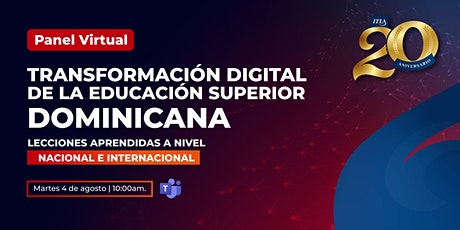Transformación Digital de la Educación Superior Dominicana entradas