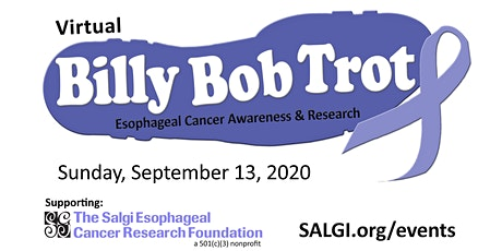 Virtual Billy Bob Trot- Esophageal Cancer Awareness & Research tickets