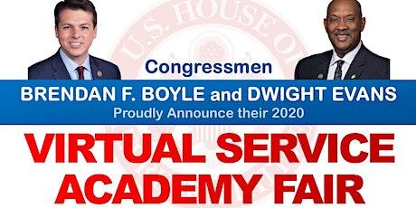 Congressional Virtual Service Academy Fair entradas