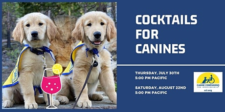 Cocktails for Canines tickets