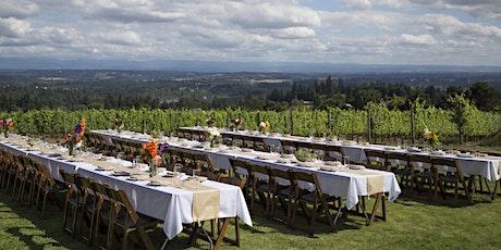 2nd Dinner in the Field at Pete's Mountain Vineyard w/ Slice of Heaven Farm tickets