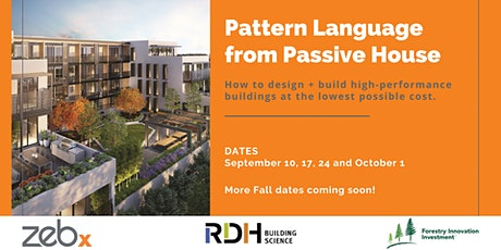 Pattern Language from Passive House - September Course tickets