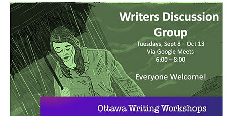Writers Discussion Group - Online! tickets