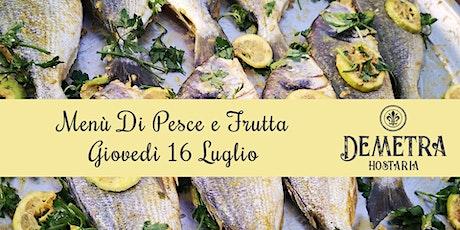 Demetra Hostaria Cena di Pesce e Frutta entradas