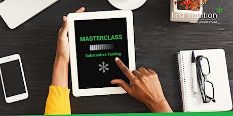 FI Masterclass: Substantive Testing tickets