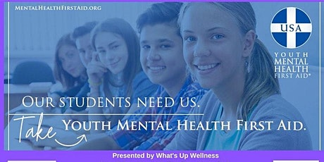 Youth Mental Health First Aid - August 15, 2020 tickets