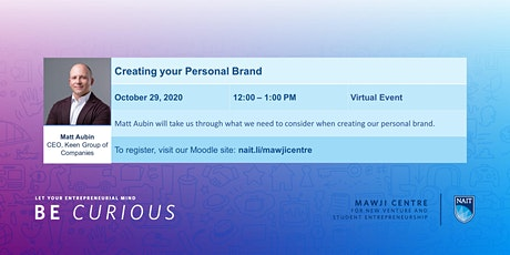 Creating your Personal Brand tickets