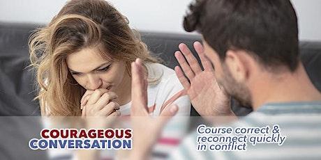 Courageous Conversation ONLINE Workshop tickets