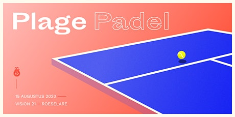 Plage Padel - Rotaract Mandeleie tickets