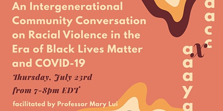 An Intergenerational Community Conversation on Racial Violence tickets