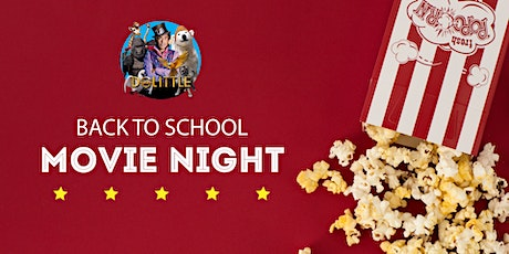 FREE Back to School Movie Night billets