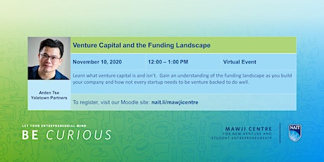 Venture Capital and the Funding Landscape tickets