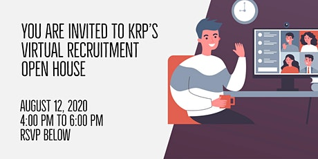 Get a feel for your future at KRP's Virtual Open House! tickets