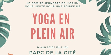 YOGA en plein air ! billets