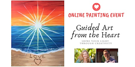 Guided Art from the Heart: Online Painting Event with a Life Coach tickets
