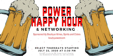 Power Happy Hour and Networking 3 tickets