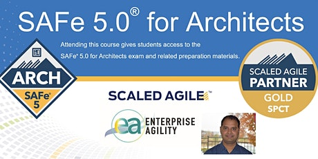 Virtual SAFe 5.0 for Architects tickets