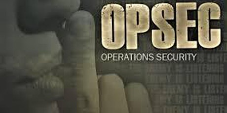 PII & OPSEC Training tickets
