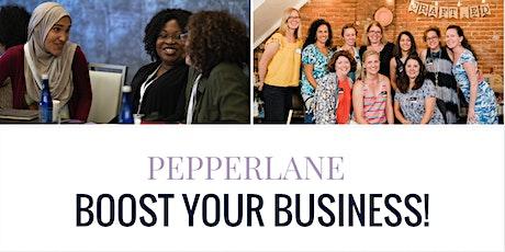 Pepperlane Boost: Led by Erica Desper & Melissa Mueller-Douglas billets