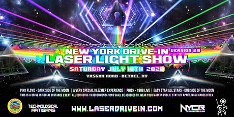NY Drive-In Laser Light Show 2.0 tickets