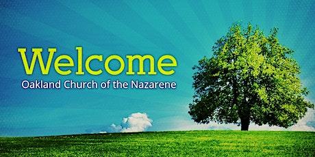 Oakland Church of the Nazarene tickets