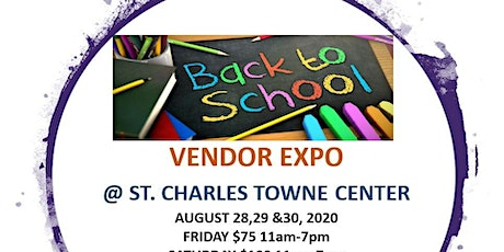 Back to School Vendor Expo tickets