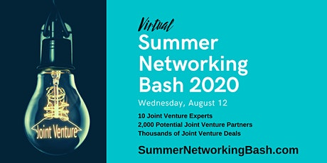Virtual Summer Networking Bash 2020 tickets